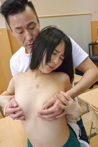 Ruka Kanae - YoungRuka Kanaegets nasty on tasty dick at school - Picture 10