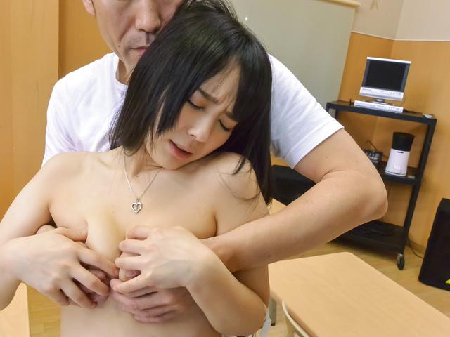 Ruka Kanae - YoungRuka Kanaegets nasty on tasty dick at school - Picture 8