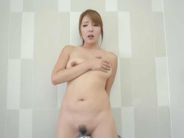 Chieri Matsunaga - Warm shower gets naughty for hot Chieri Matsunaga - Picture 1