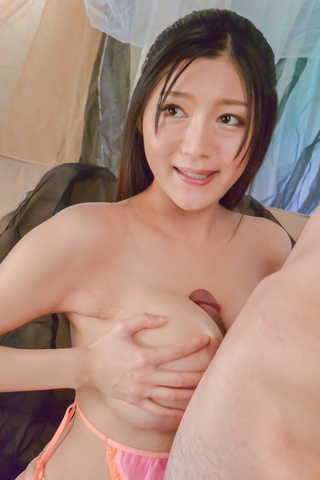 Miho Ichiki - BustyMiho Ichiki gets jizzed on face after naughty oral - Picture 5