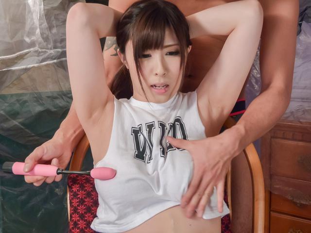 Mizuki Akai - 脏的熟女喜欢亚洲的假阳具,她 wte 漏洞 - 图片 7