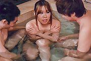 Iroha Suzumura - 野外露天風呂でムラムラ 鈴村いろは - Picture 7