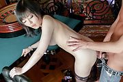 Hikaru Kirameki - Hikaru Kirameki enjoying hot asian blow job porn - Picture 12
