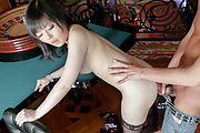 Hikaru Kirameki - 宇多田光猜谜享受热亚洲吹工作色情 - 图片 12