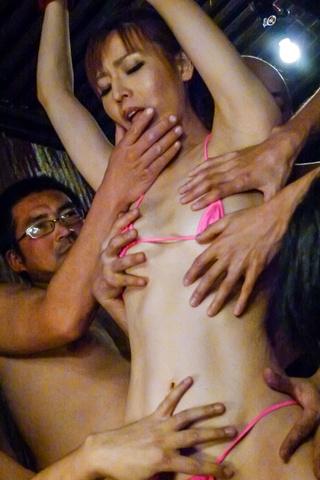 Saori - Japanese bondage sex movies with hornySaori - Picture 4