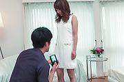 Nana Fujii - Nana Fujii bends ass for a full Asian creampie  - Picture 1