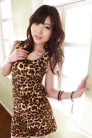Megumi Shino - Megumi Shino is fucked through stockings - Picture 5