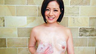 セクシー熟女~バスルーム昇天オナニー