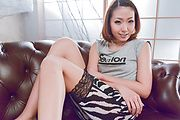 Miku Kirino - Miku Kirino amazes with a hot Asian blowjob - Picture 2