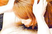 Chieri Matsunaga - 与性感 Chieri Matsunaga POV 亚洲口交 - 图片 9