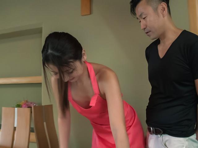 Maya Kato - 弯曲的屁股家庭主妇长存僵硬亚洲振动器 - 图片 6