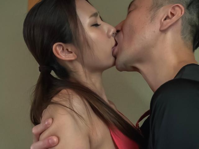 Maya Kato - Curvy ass housewife endures stiff Asian vibrator - Picture 7