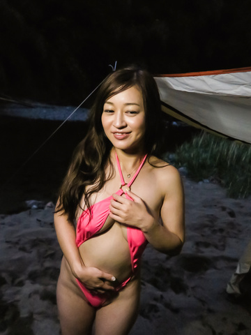Maria Ono - Naughty Asian blowjob in babe's hardcore show - Picture 1