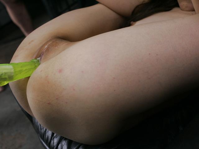 Megumi Morita - Her legs spread, Megumi Moritas holes get cum covered - Picture 12