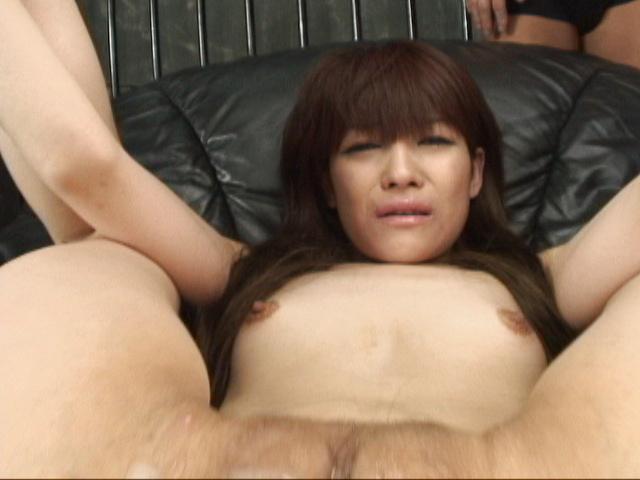 Megumi Morita - Her legs spread, Megumi Moritas holes get cum covered - Picture 7