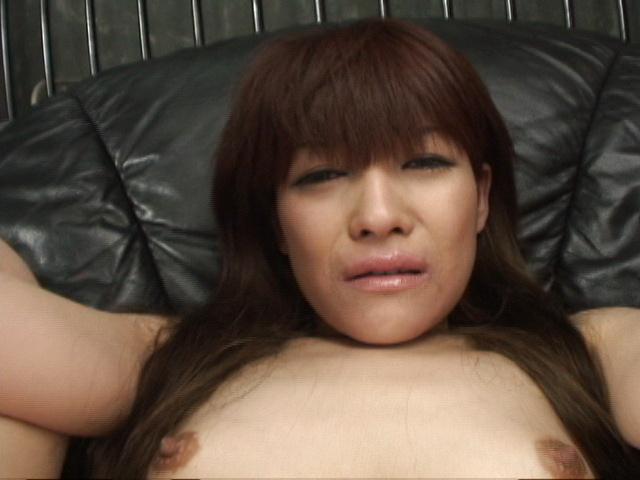 Megumi Morita - Her legs spread, Megumi Moritas holes get cum covered - Picture 9