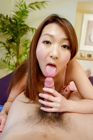 Marin Koyanagi - Sweet POV adventure with big tits babe Marin Koyanagi  - Picture 11