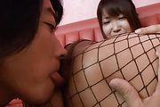 Yuuno Hoshi - Hot Yuuno Hoshi loves vibrator on her crack - Picture 10