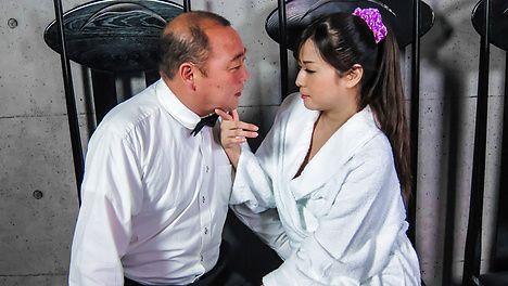 Impressive asian blow job with sexy Mizuki Ogawa