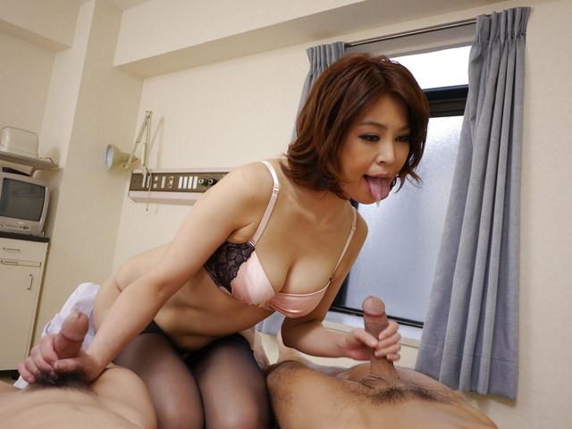 Erika Nishino - Erika Nishino enjoys Asian anal with a big cock - Picture 4