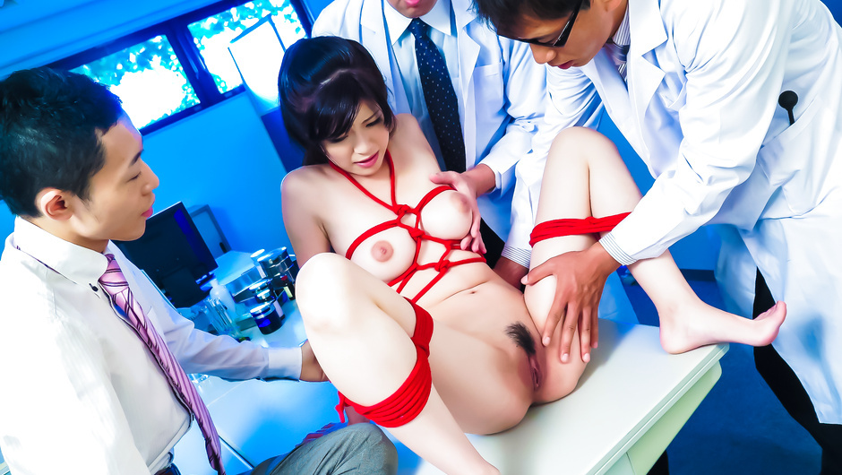 Phim Sex Sara Yurikawa enjoys Asian dildo in raw bondage experience