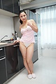 Yuri Honma - Yuri Honma plays with cock in smooth manners - Picture 4