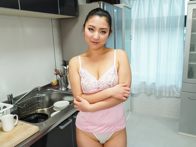 Yuri Honma - Yuri Honma plays with cock in smooth manners  - Picture 12