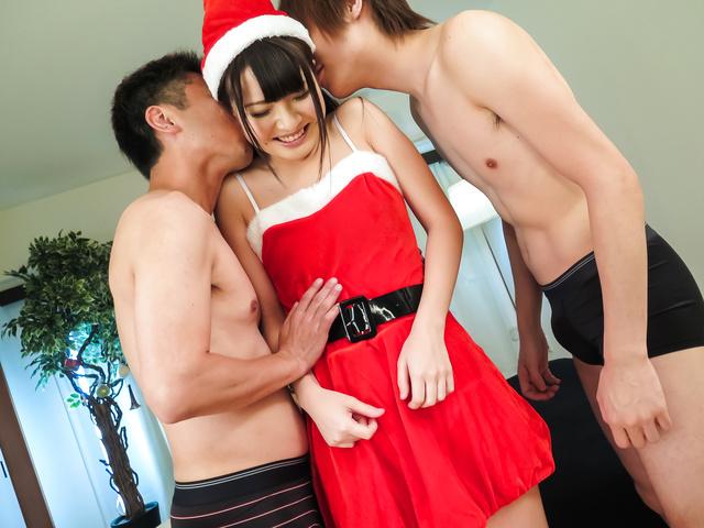 Natsuki Hasegawa - 小山雀的青年惊讶与好日本口交 - 图片 1