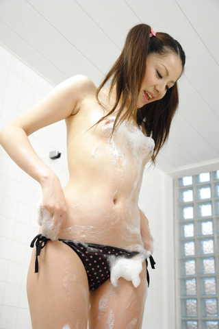 Rika Koizumi - Rina Koizumi gets awesome sex right out of bath - Picture 1