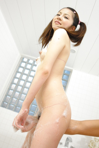 Rika Koizumi - Rina Koizumi gets awesome sex right out of bath - Picture 2