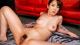 Asian blowjob by Yui Hatano in serious group session