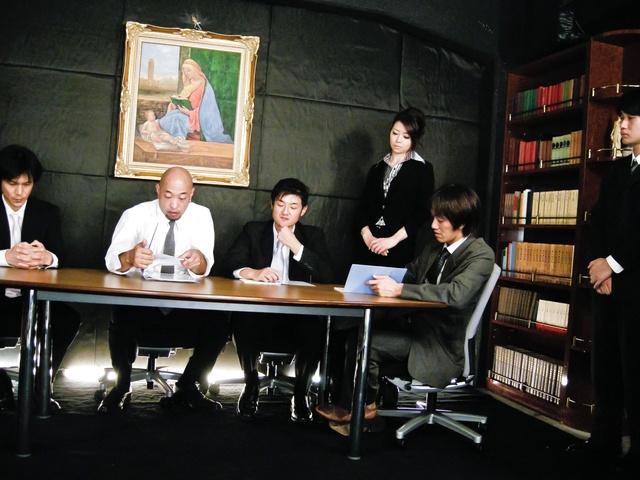 Maki Hojo - 日本辣妹北条 Maki 人处理 - 图片 1
