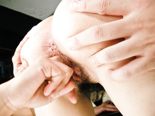 Maki Hojo - 日本辣妹北条 Maki 人处理 - 图片 6