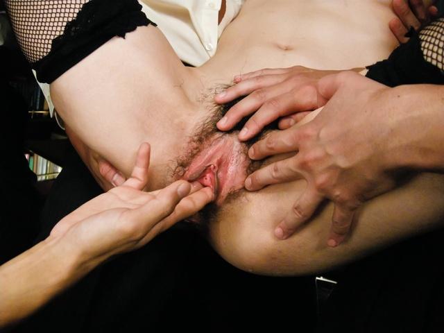 Maki Hojo - 日本辣妹北条 Maki 人处理 - 图片 8