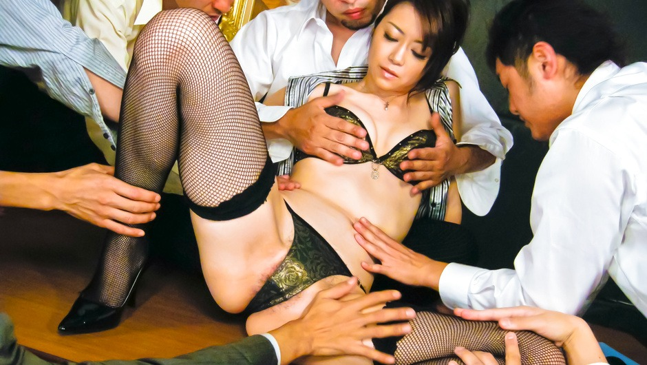Phim Sex Hot Japanese chick Hojo Maki man-handled