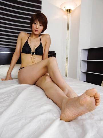 沙織 - 若妻痴女沙織の3P中出しファック - Picture 3
