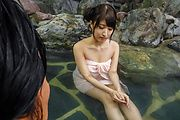 Saki Kobashi - 露天風呂デート~はめたい小橋咲! - Picture 6