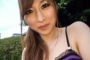 Reira Aisaki - Reira Aisaki naughty play on her young Asian pussy  - Picture 10