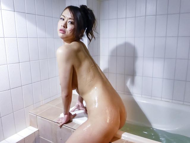Kaede Niiyama - Asian mature sex movie with Kaede Niiyama  - Picture 10