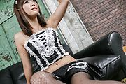 Momoka Rin - Momoka Rin dresses up like a maid for a japanese fuck - Picture 2
