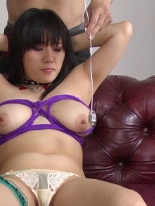 Azusa Nagasawa - Azusa Nagasawa gets a facial in japanese sex bondage - Screenshot 1
