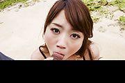 Mayuka Akimoto - 马尤卡 Akimoto 给室外的亚洲口交 - 图片 7