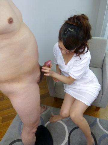 Rei Mizuna - Hot Japanese blowjob with sexyRei Mizuna - Picture 6