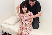 Rikako - Rikako gets cream filled thanks to a japanese blow job and pussy pounding - Picture 3