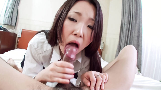 Miyuki - Miyuki in a serious cock blowing and humping - Picture 11