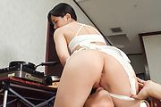 Yui Kasugano - Staggering Japanese dildo porn show with Yui Kasugano - Picture 1