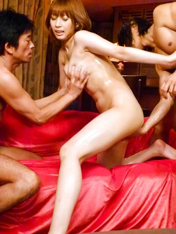 Tiara Ayase - Tiara Ayase's asian blow job and creampie has her exhausted - Picture 10
