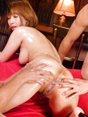 Tiara Ayase - Tiara Ayase's asian blow job and creampie has her exhausted - Picture 9
