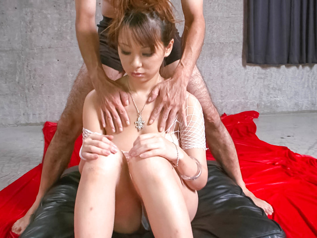 Asuka - Sexy and hot fuck babe Asuka getting her hairy pussy fondled and fucked - Picture 2