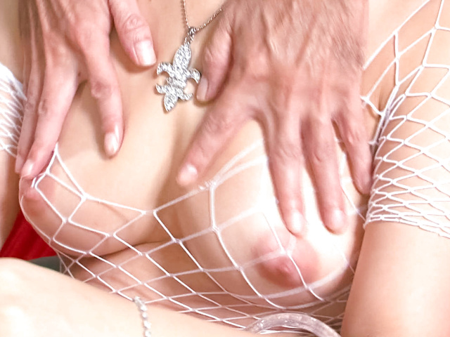 Asuka - Sexy and hot fuck babe Asuka getting her hairy pussy fondled and fucked - Picture 3